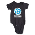 1970 FIFA World Cup Emblem Onesie (Black)