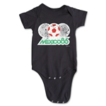 1986 FIFA World Cup Emblem Onesie (Black)