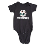 1990 FIFA World Cup Emblem Onesie (Black)