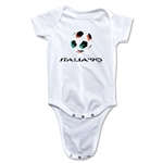 1990 FIFA World Cup Emblem Onesie (White)