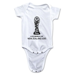 FIFA U-20 World Cup New Zealand 2015 Emblem 2 Onesie (White)