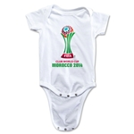 FIFA Club World Cup Morocco 2014 Official Emblem Onesie (White)