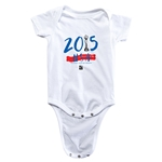 USA FIFA Women's World Cup Champions Onesie (White)