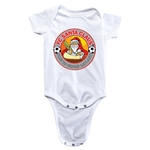 FC Santa Claus Core Infant Onesie (White)