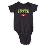 Antigua & Barbuda Soccer Onesie (Black)