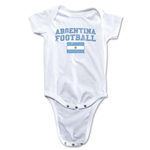 Argentina Football Onesie (White)