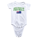 Australia Football Onesie (White)