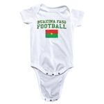 Burkina Faso Football Onesie (White)