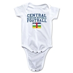 Central African Republic Football Onesie (White)