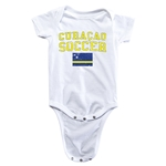 Curacao Soccer Onesie (White)