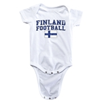 Finland Football Onesie (White)