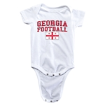 Georgia Football Onesie (White)
