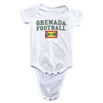 Grenada Football Onesie (White)