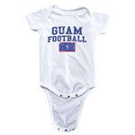 Guam Football Onesie (White)