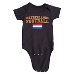 Netherlands Football Onesie (Black)