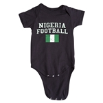 Nigeria Football Onesie (Black)