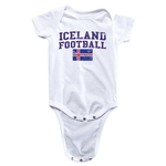 Iceland Football Onesie (White)
