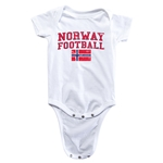 Norway Football Onesie (White)