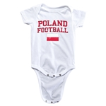 Poland Football Onesie (White)