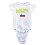Slovenia Football Onesie (White)