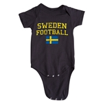 Sweden Football Onesie (Black)