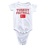 Turkey Football Onesie (White)
