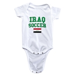 Iraq Soccer Onesie (White)