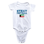 Kuwait Football Onesie (White)