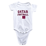 Qatar Football Onesie (White)