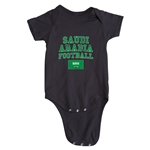 Saudi Arabia Football Onesie (Black)