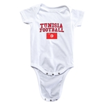Tunisia Football Onesie (White)