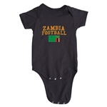 Zambia Football Onesie (Black)