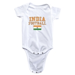 India Football Onesie (White)