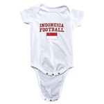 Indonesia Football Onesie (White)