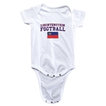 Liechtenstein Football Onesie (White)
