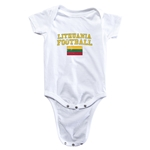 Lithuania Football Onesie (White)