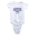 Luxembourg Soccer Onesie (White)