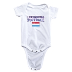 Luxembourg Football Onesie (White)