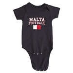 Malta Football Onesie (Black)