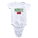 Morocco Football Onesie (White)