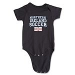 Northern Ireland Soccer Onesie (Black)
