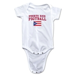 Puerto Rico Football Onesie (White)