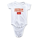 Vietnam Football Onesie (White)