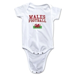 Wales Football Onesie (White)