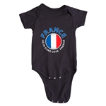France Euro 2016 Fashion Onesie (Black)