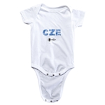 Czech Republic Euro 2016 Elements Onesie (White)