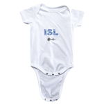 Iceland Euro 2016 Elements Onesie (White)