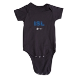Iceland Euro 2016 Elements Onesie (Black)