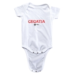 Croatia Euro 2016 Core Onesie (White)