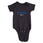 France Euro 2016 Core Onesie (Black)